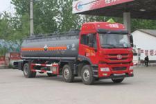 CLW5256GFWC4型程力威牌腐蚀性物品罐式运输车图片