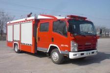 鲸象牌AS5105GXFSG35型水罐消防车