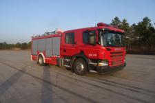 中卓时代牌ZXF5180GXFPM60/S型泡沫消防车