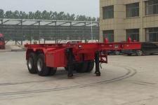 坤博7.2米31.5吨2轴集装箱运输半挂车(LKB9351TJZ)