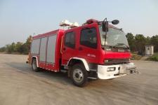 隆华牌BBS5120TXFJY65/W型抢险救援消防车