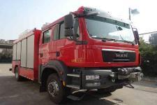 捷达消防牌SJD5140TXFJY100/MEA型抢险救援消防车图片