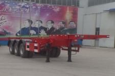 梁郓牌SLY9380TJZE型集装箱运输半挂车图片
