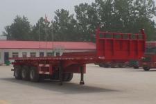 倪盛8.5米33吨3轴平板自卸半挂车(XSQ9403ZZXP)