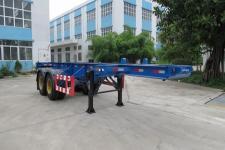 禅珠牌FHJ9340TJZ型集装箱运输半挂车