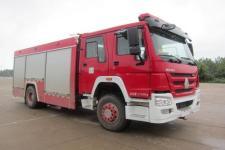 上格牌SGX5171TXFHX40/ZZ型化学洗消消防车