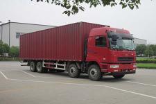 华菱国五前四后八厢式运输车290-375马力15-20吨(HN5310XXYX34D6M5)