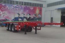 梁郓牌SLY9380TJZ型集装箱运输半挂车图片