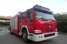 抚起牌FQZ5140TXFJY60/J型抢险救援消防车图片