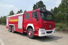 汉江牌HXF5320GXFPM160/HW型泡沫消防车