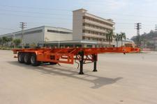 禅珠牌FHJ9400TJZ型集装箱运输半挂车