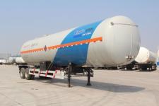 安瑞科(ENRIC)牌HGJ9280GRQ型易燃气体罐式运输半挂车