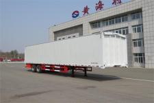 黄海牌DD9320XYK型翼开启厢式半挂车图片