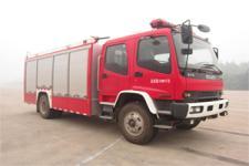 金盛盾牌JDX5150GXFAP50/W型A类泡沫消防车图片