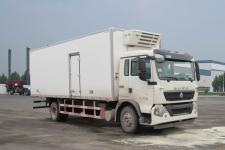 豪沃牌ZZ5167XLCH561GD1型冷藏车