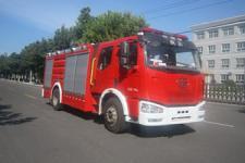 中卓时代牌ZXF5180GXFSG60型水罐消防车