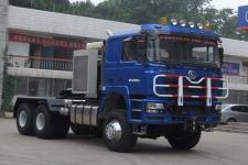 陕汽后双桥,后八轮大件牵引车609马力(SX4300)