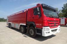 飞雁牌CX5430GXFSG250型水罐消防车