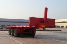 沃顺达8米31.8吨3轴平板自卸半挂车(DR9401ZZXP)