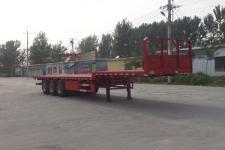 华盛顺翔12米32.5吨3轴平板运输半挂车(LHS9400TPBE)