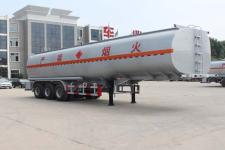 斯派菲勒牌GJC9403GRY型易燃液体罐式运输半挂车