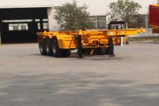 劲越牌LYD9405TWY型危险品罐箱骨架运输半挂车
