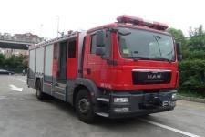 振翔牌MG5160GXFAP60/DM型A类泡沫消防车图片