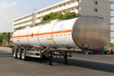 AKL9409GRY型开乐牌铝合金易燃液体罐式运输半挂车图片