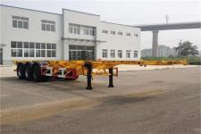 黄海12.4米31.1吨3轴集装箱运输半挂车(DD9370TJZ)