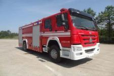 飞雁牌CX5200GXFPM80型泡沫消防车