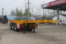 程力威牌CLW9401TWY型危险品罐箱骨架运输半挂车