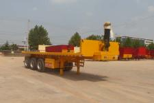 中基华烁9.5米31.5吨3轴平板自卸半挂车(XHS9401ZZXP)