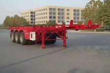 红宇9.7米34.3吨3轴危险品罐箱骨架运输半挂车(HYJ9400TWY)