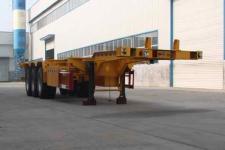 金华飞顺牌JFS9401TJZG型集装箱运输半挂车