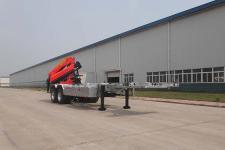 青专10米19.7吨2轴随车起重运输半挂车(QDZ9290JSQ)
