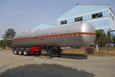 四六13米2.9吨3轴易燃气体罐式运输半挂车(WHC9400GRQ)