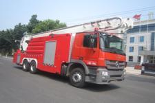 中卓时代牌ZXF5310JXFJP32型举高喷射消防车