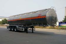 昌骅牌HCH9402GYW型铝合金氧化性物品罐式运输半挂车图片