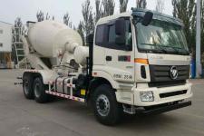 欧曼牌BJ5253GJB-AC型混凝土搅拌运输车