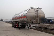 万事达11.6米33吨3轴铝合金易燃液体罐式运输半挂车(SDW9404GRYA)