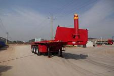 成星8.1米33吨3轴平板自卸半挂车(HCX9400ZZXP)