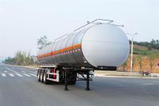 齐星牌QXC9402GRY型铝合金易燃液体罐式运输半挂车