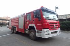 金盛盾牌JDX5280GXFSG120/H型水罐消防车