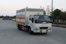 SGZ5048XRGJX4型华威驰乐牌易燃固体厢式运输车图片