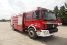 飞雁牌CX5150GXFSG50型水罐消防车