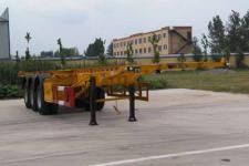 华威翔运牌CYX9400TWY型危险品罐箱骨架运输半挂车图片