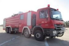 永强奥林宝牌RY5382GXFSG180/T型水罐消防车