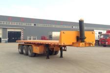 萬祥9.4米32.5吨3轴平板自卸半挂车(HWX9401ZZXP)
