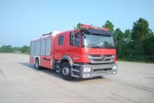 金盛盾牌JDX5170GXFSG60/B型水罐消防车