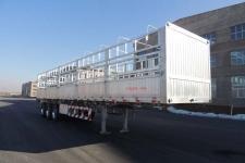 路斯牌MBS9402CCYLH型铝合金仓栅式运输半挂车图片